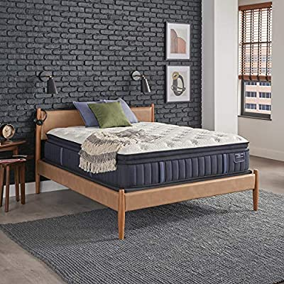 Stearns and Foster Estate, 15-Inch Luxury Plush Euro Pillowtop Mattress, King, Hand Built in the USA