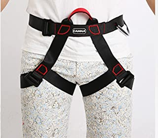 Climbing Harness, Full Body Harness, Oumers Safe Belts Guide Harness For Outward Band Expanding Training, Caving Rock Climbing Rappelling Equip, Safety Comfort, Pro Avao Bod Fast Harness ¡