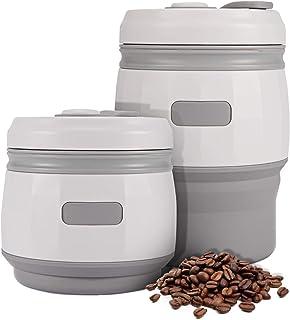 Taza de café plegable con tapas 380 ml Prueba de fugas iTrunk Silicona reutilizable Taza de café portátil reutilizable para viajes al aire libre Camping Senderismo Bpa Libre Certificado por la