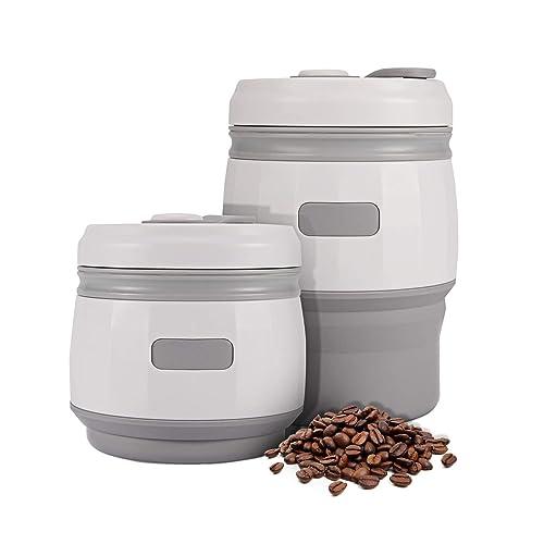 Taza de café plegable con tapas 380 ml Prueba de fugas iTrunk Silicona reutilizable Taza de