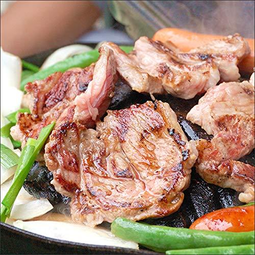 ラム肉 ブロック 約360g×3P (肩ロース/冷凍品) ジンギスカン 業務用 肉 ラム 羊肉 塊 千歳ラム工房 肉の山本 北海道 グルメ お取り寄せ