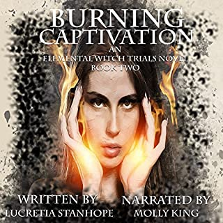 Burning Captivation audiobook cover art