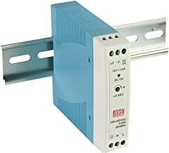 MEAN WELL MDR-20-12 AC to DC DIN-Rail Power Supply 12V 1.67 Amp 20W