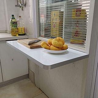 CCEKD Table De Salle à Manger Murale pour Pliante Table Pliante à Abattant Petits Espaces Table Pliante à Abattant Mural,1...