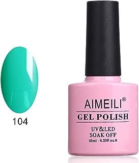AIMEILI Soak Off UV LED Gel Nail Polish - Cymbidium ensifolium (104) 10ml