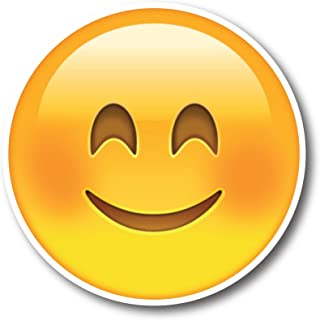 Smiley Face Emoji Magnet Decal Perfect for Car or Truck
