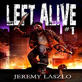 Left Alive 1 audiobook cover art