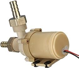 Borstelloze DC 12V waterpomp keramische pompkern stomm bestand tegen hoge temperaturen zonne-energie warm water circulatie...