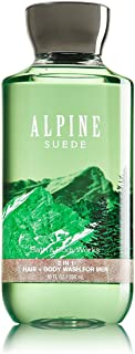 Bath and Body Works Alpine Suede 2 in 1 Men's Hair + Body Wash 10 Oz - coolthings.us