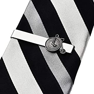 Quality Handcrafts Guaranteed Penny-Farthing High Wheeler Tie Clip