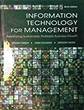 Information Technology for Management: Advancing Sustainable, Profitable Business Growth