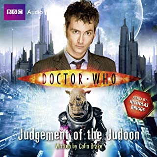 Doctor Who: Judgement of the Judoon audiobook cover art