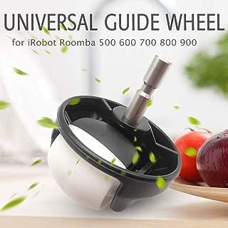 Lixada Universal Guide Wheel Front Castor Wheel Vacuum Cleaner Replacement for iRobot Roomba 500 600 700 800 900 Series