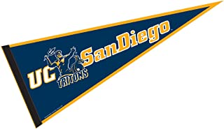 College Flags and Banners Co. UC San Diego Pennant Full Size Felt