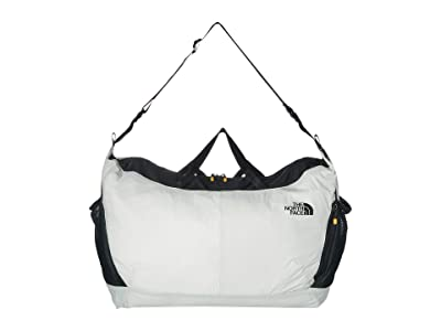 The North Face Flyweight Duffel (Tin Grey/TNF Black) Duffel Bags