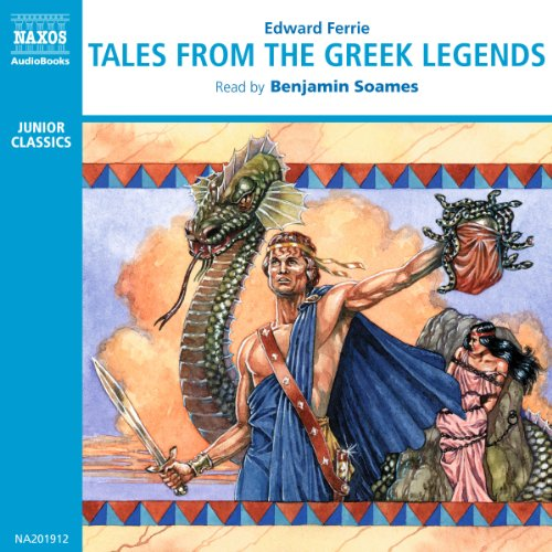 Tales from the Greek Legends audiobook cover art