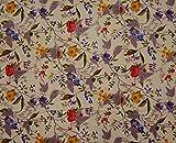 Knitwit Dekorative Indische Blumen Gedruckt Handwerk