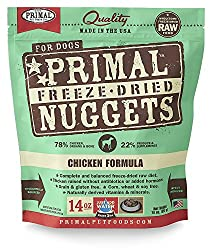 Primal Freeze-Dried Nuggets Chicken Formula for Dogs