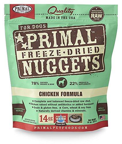 Primal Freeze Dried Dog Food Chicken Formula