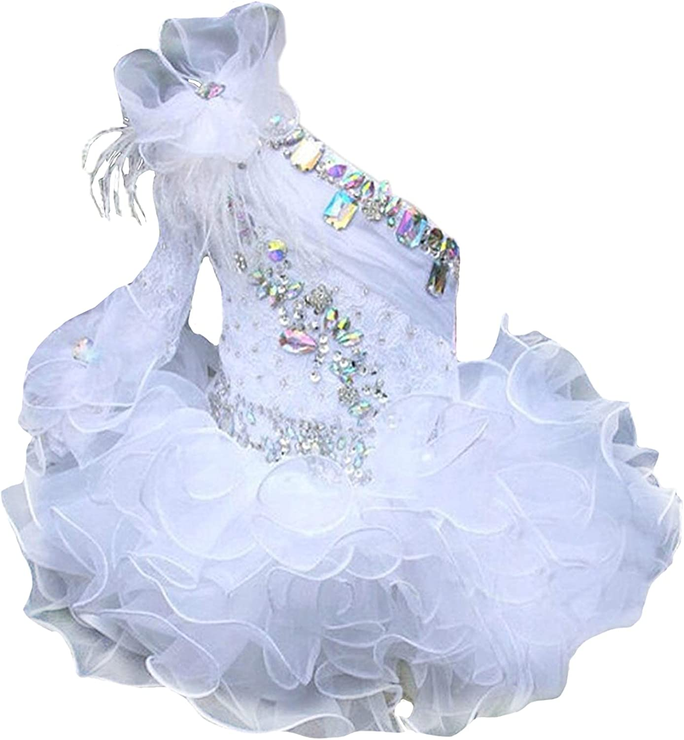 Junguan Infant Girls Special sale item Wedding Party Pageant Tutu Cu Baltimore Mall Newborn Gowns
