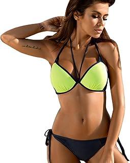 Costumi Costume da Bagno Donna Costumi Push-Up Imbottiti con Reggiseno Integrale Bikini OHQ Costume da Bagno