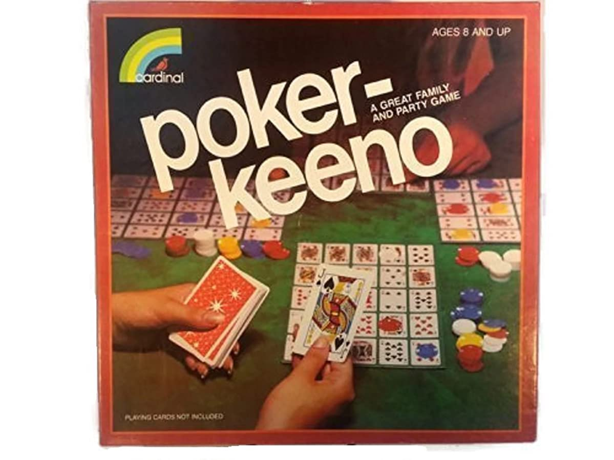 Poker-Keeno A Great Family and Party Game