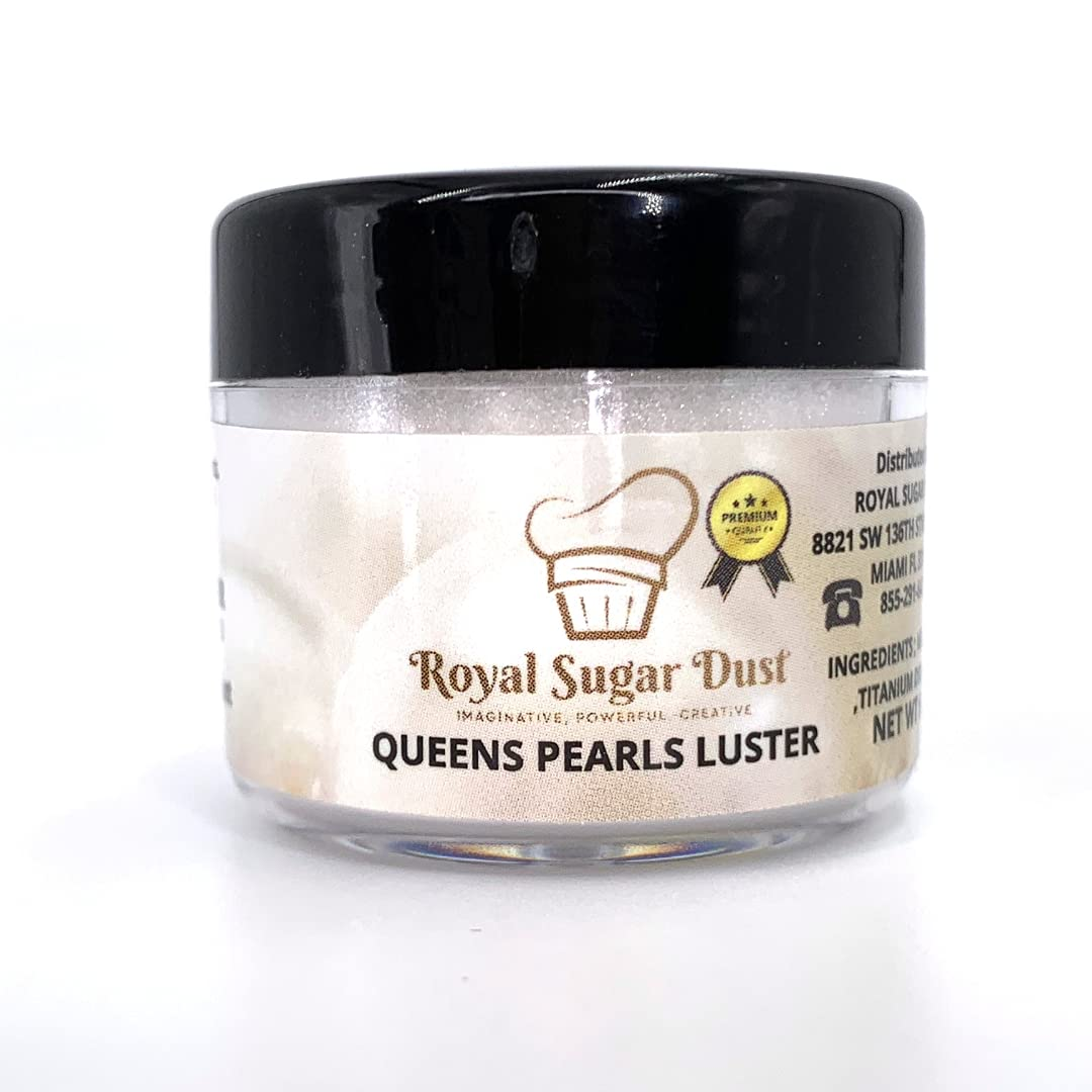 QUEEN'S PEARLS LUSTER - Over item handling ULTRA CHOCOLATE CAKE Ranking TOP9 DESSER EDIBLE PEARL