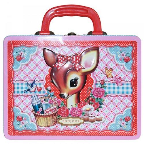 Cotton Candy Lunchbox rosa Kinder Bambi Reh Mädchen Brotdose