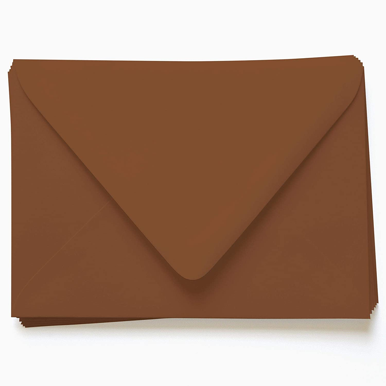 Sepia Brown Cheap sale Envelopes - A2 Gmund Colors Matt 8 x 3 Cheap mail order specialty store 4 Euro 5