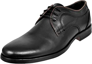 Allen Cooper ACFS-8028 Genuine Leather Durable Comfortable Formal Shoes for Mens