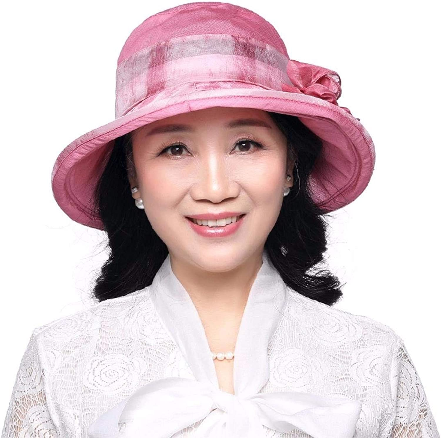 Chuiqingnet Gift for Mom Gift for grandmother Summer hat summer hat pot hat cloth hat fisherman hat street hat Beach Hat