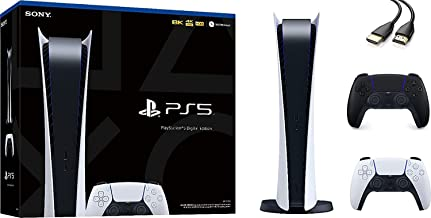 $1399 » PS5 Playstation 5 Digital Edition Console - 4K-TV Gaming, Ultra-High Speed SSD, 825GB SSD, 8K Output, Wi-Fi 6 (IEEE 802.11...