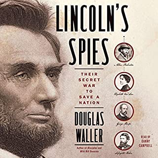 Lincoln's Spies audiobook cover art