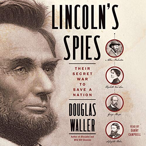 Lincoln's Spies cover art