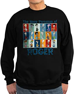 CafePress - American Dad Roger Personas - Classic Crew Neck Sweatshirt