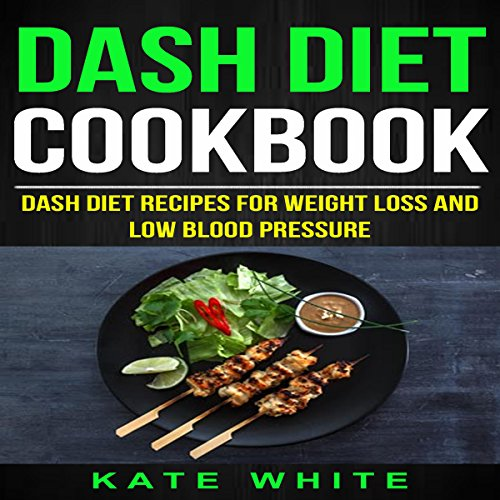 Dash Diet Cookbook audiobook cover art