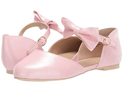 Janie and Jack Pearlized Bow Flat (Toddler/Little Kid/Big Kid) (Pink) Girl