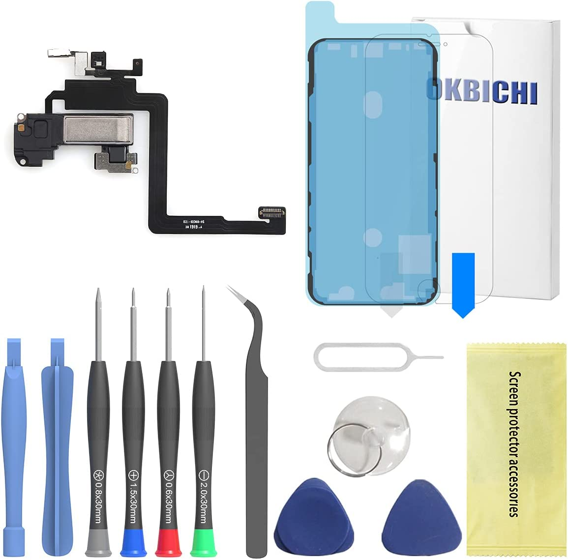 OKBICHI trend rank Earspeaker Replacement for iPhone Earpiece Sound outlet 11 Pro
