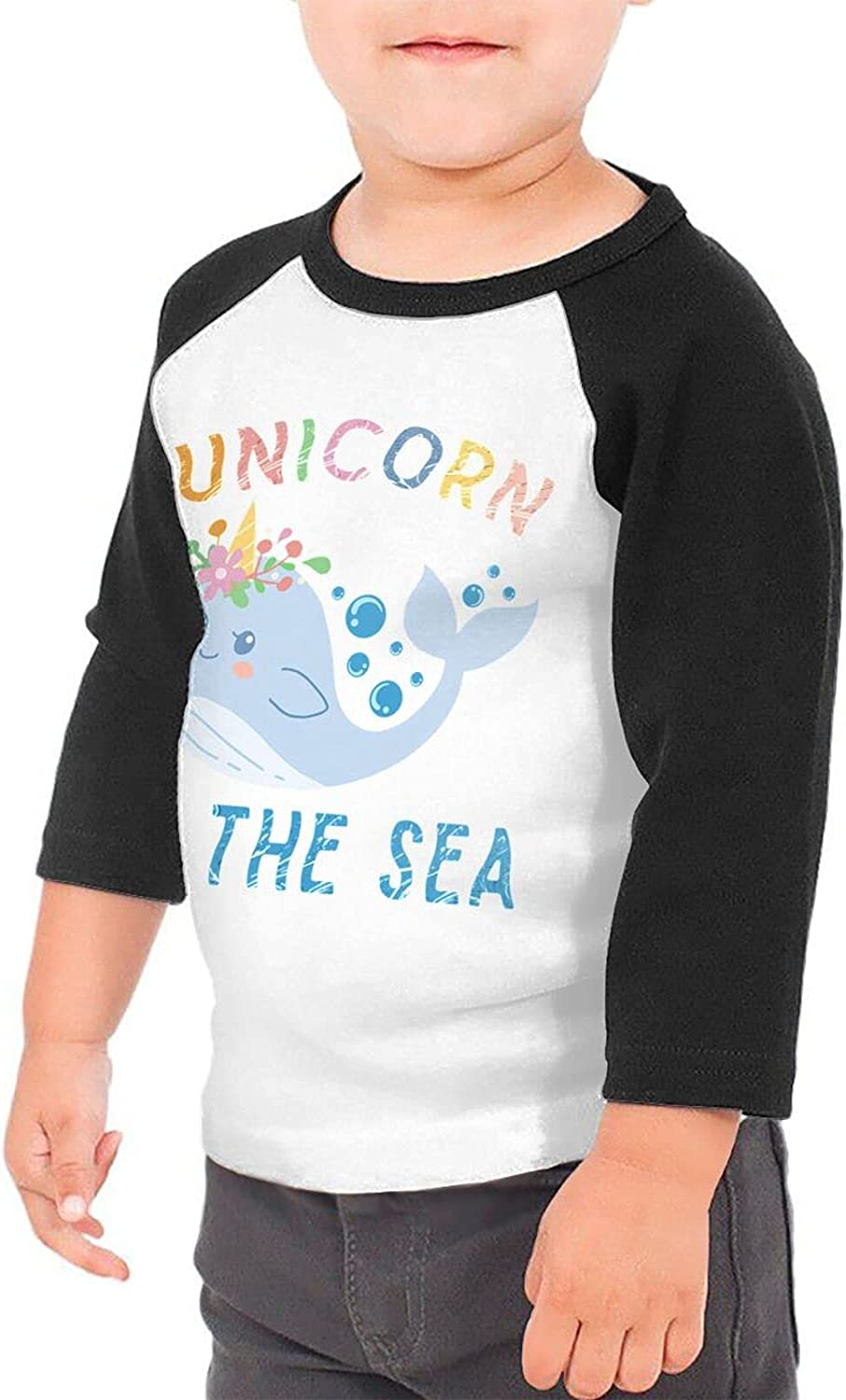 Unicorn of The Sea Narwhal T-Shirts Novelty for Girls Tees with Cool Designs