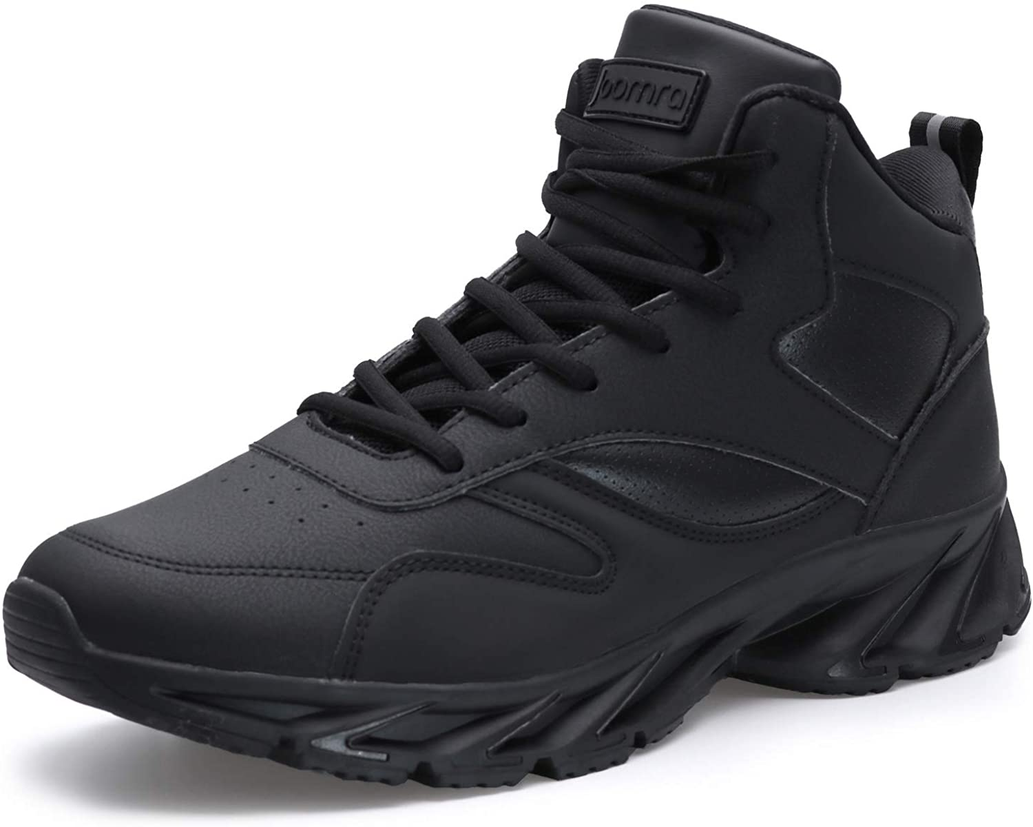 Joomra Men's Stylish Sneakers オンライン限定商品 High Shoes Athletic-Inspired Top 5☆好評