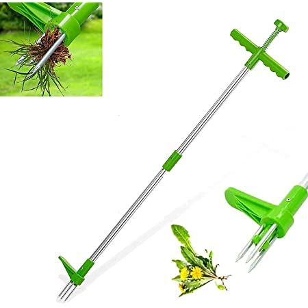 Gardening 39 Long Reinforced Aluminum Alloy Pole Manual Remover ...