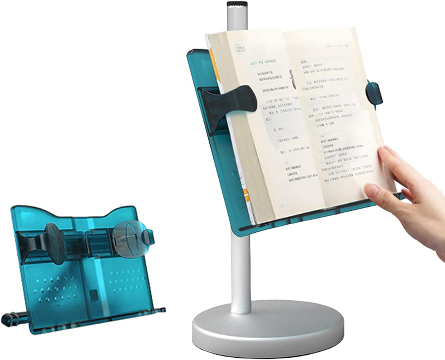 Dual-use Desktop Book Stand for Gorgeous Holders Hands Weekly update Reading Free