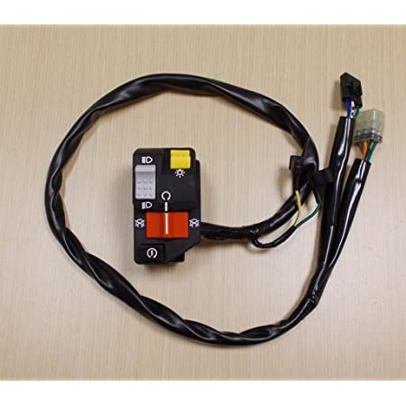 Handlebar Switch Start Stop Headlight Fits for 1999-2004 Honda TRX400EX Fourtrax Sportrax 35020-HN1-000