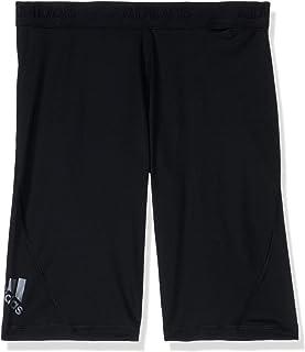 adidas Alphaskin Sport Short Tight Tights, Bambino, Black, 7-8A