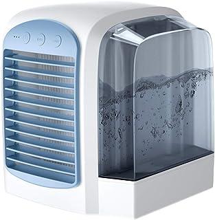 YWLINK Enfriador De Aire con Hielo Estilo Europeo Simple De Agua Y Aire Acondicionado Ventilador Silencioso De RefrigeracióN por Agua Ventilador De Aire Enfriador De Aire Equipo Agregar Agua Helada