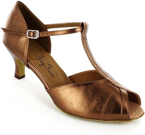 Adultes Chaussures de Danse Chaussures Modernes Chaussures de Danse carrée Chaussures de Danse de l'amitié Doux Chaussures de Danse de Fond