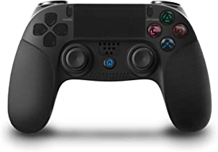 $49 » KJYT Wireless Game Controller Compatible with Playstation 4 System, for PS4 Console with Double Shock and Charging Cable B...