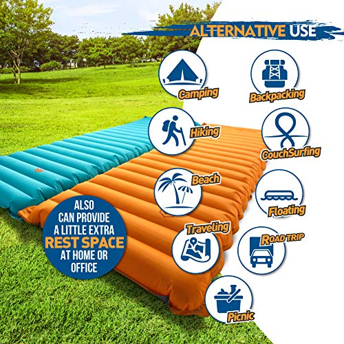 ZOOOBELIVES『ExtraThicknessInflatableSleepingPad(Airlive2000)』