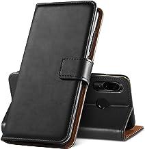 GeeRic Funda para Xiaomi Redmi Note 7, Funda Note 7 Pro/Note 7S Libro [Función de Soporte] [Ranura para Tarjeta] [Imán] [Antideslizante] Funda Protector para Xiaomi Redmi Note 7 Negro