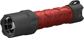 Coast Polysteel 600R 530 lm Rechargeable Waterproof LED Flashlight, Red